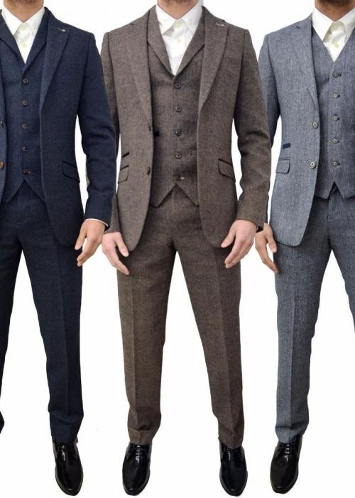2018-new-men-suits-3-piece-designer-retro